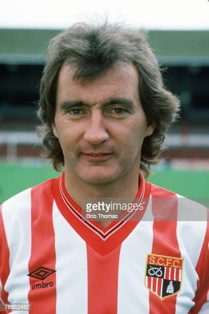 circa 1985 Alan Hudson Stoke City