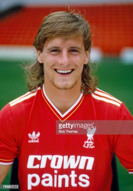 circa 1985 Paul Walsh Liverpool striker 19841988 Paul Walsh also won 5 England international caps between 19831984