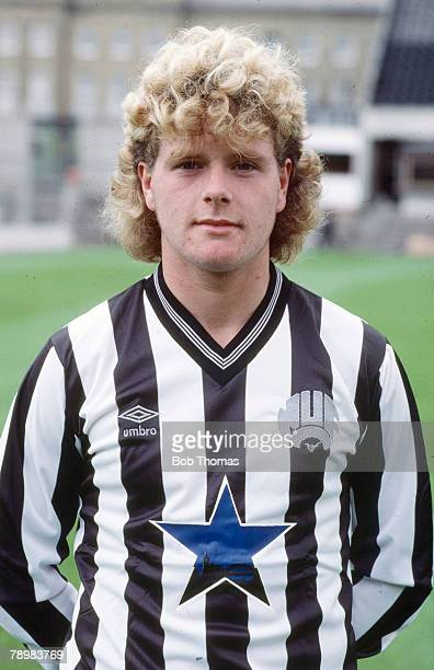 circa 1986 Paul Gascoigne Newcastle United one of England's best ever players who won 57 England international caps between 19881998