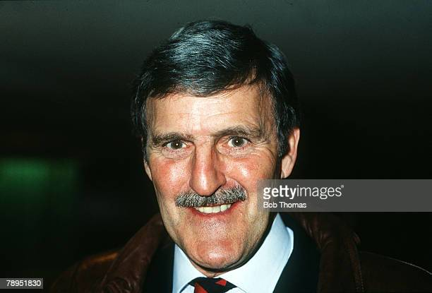 circa 1987 Jimmy Hill Fulham Chairman and Television presenter and analyst on Football