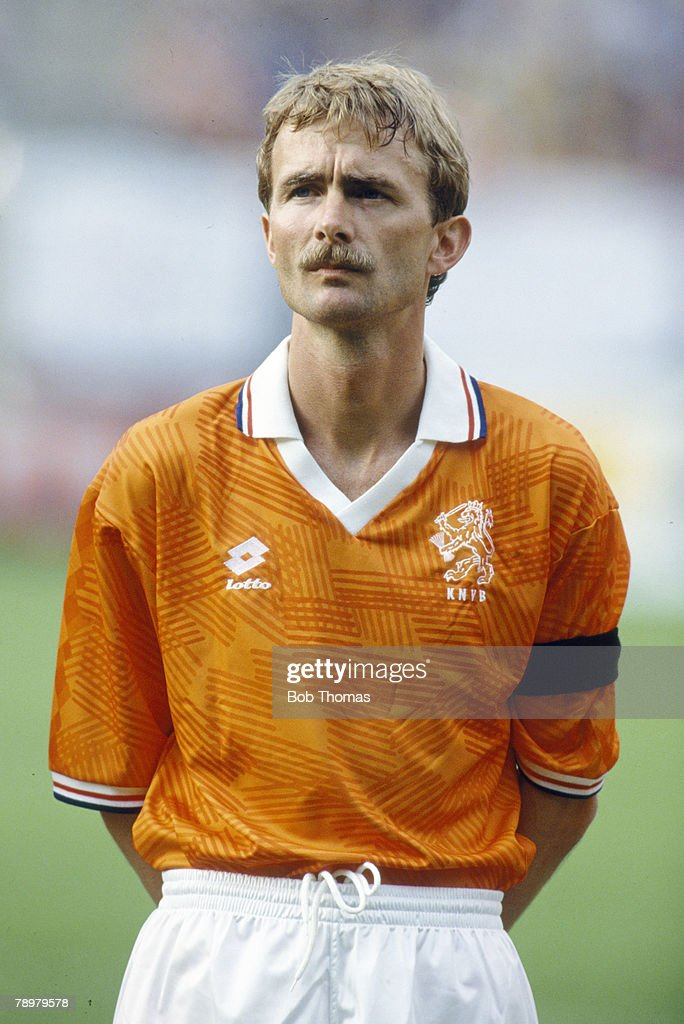 circa 1988, Adri Van Tiggelen, Holland, who won 56 Holland international caps