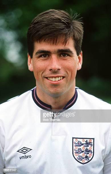 Circa 1988, Neil Webb, England , who won 45 England caps between 1988-1992