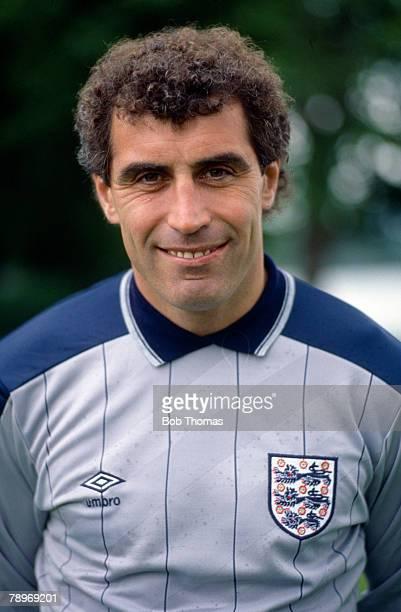 circa 1988 Peter Shilton England goalkeeper who won 125 England international caps between 19711990