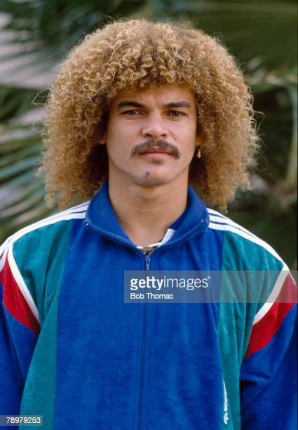 circa 1989 Colombia's Carlos Valderrama Carlos Valderrama who was one of the great players won 111 international caps for Colombia