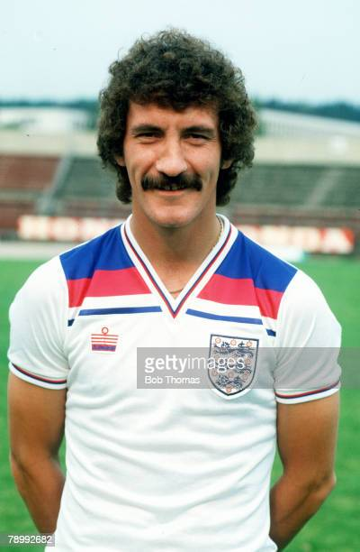circa 1989 Terry McDermott England and who won 25 England caps from 19781982