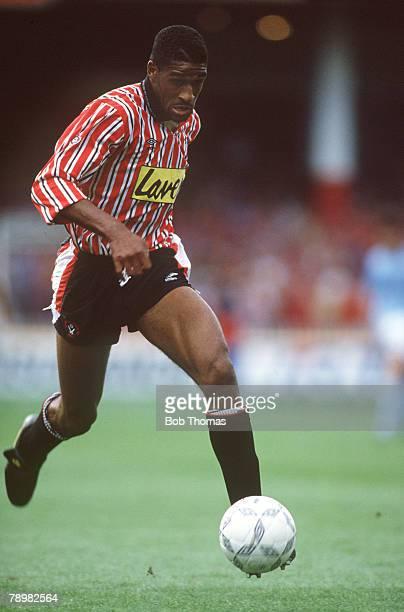 circa 1990 Brian Deane Sheffield United