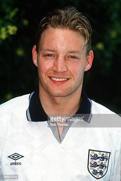 circa 1990 David Batty England portrait