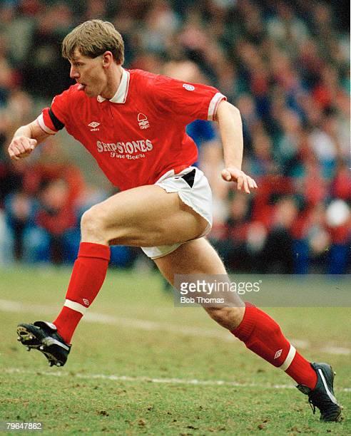 circa 1990 Division 1 Stuart Pearce Nottingham Forest defender who won 78 England caps between 19872000