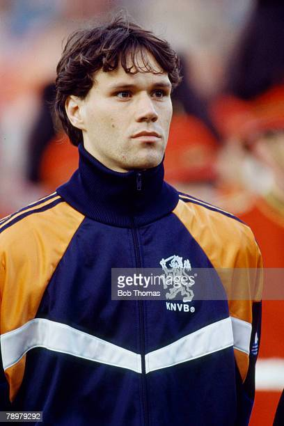 circa 1990 Marco Van Basten Holland one of their greatest strikers who won 58 international caps for Holland between 19831992