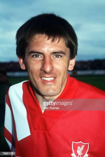 circa 1990 Peter Beardsley Liverpool portrait