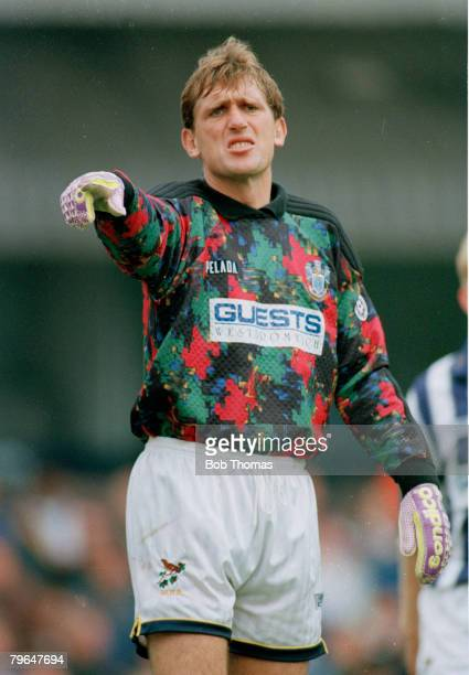 circa 1990 Stuart Naylor West Bromwich Albion goalkeeper 19851995