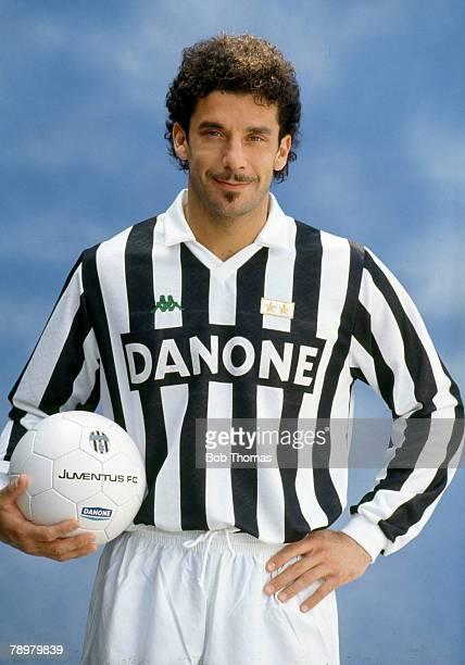 circa 1992 Gianluca Vialli Juventus Gianluca Vialli won 59 Italy international caps between 19851993