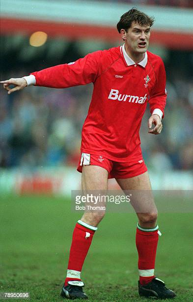 circa 1992 Glenn Hoddle Swindon Town Player Manager