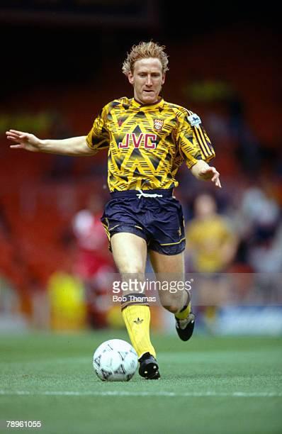 Circa 1992, Ray Parlour, Arsenal midfielder, who won 10 England international caps between 1999-20001