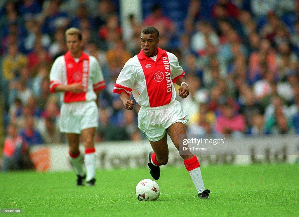 Sport. Football. pic: circa 1993. Edgar Davids, Ajax. : News Photo