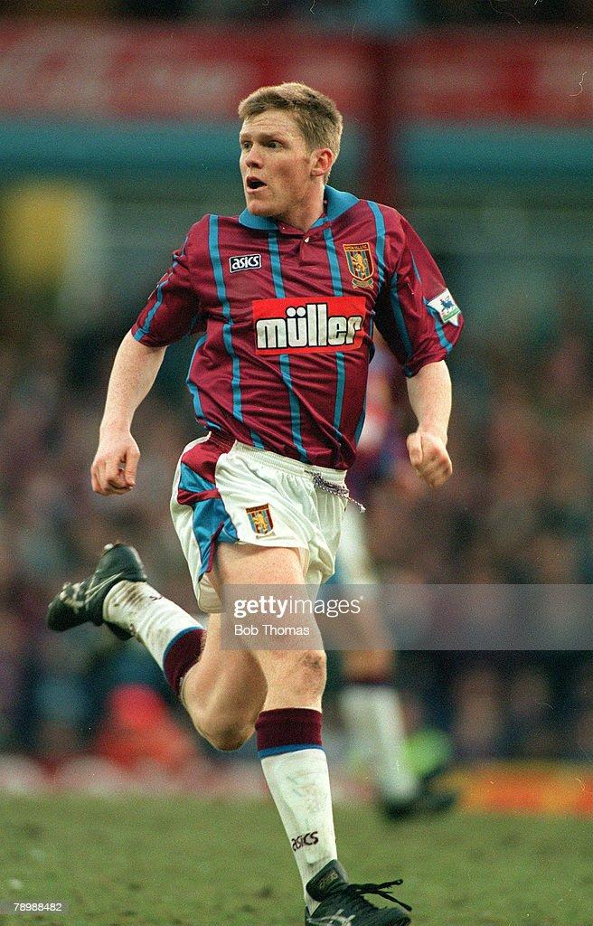 Sport. Football. pic: circa 1993. Graham Fenton, Aston Villa. : News Photo