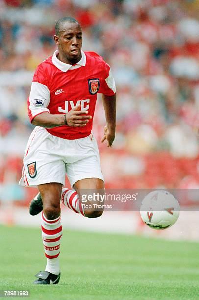 circa 1993 Ian Wright Arsenal striker 19911998 Ian Wright won 33 England international caps between 19911999