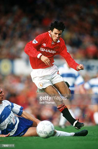 circa 1993 Ryan Giggs Manchester United