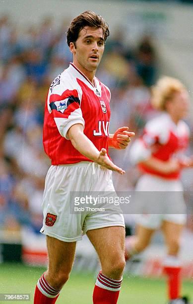 Circa 1994, Eddie McGoldrick, Arsenal, who won 15 Republic of Ireland international caps between 1992-1995
