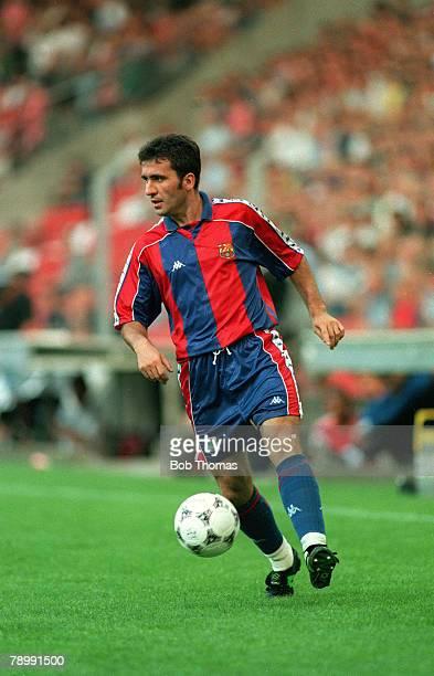 circa 1994 Gheorghe Hagi Barcelona