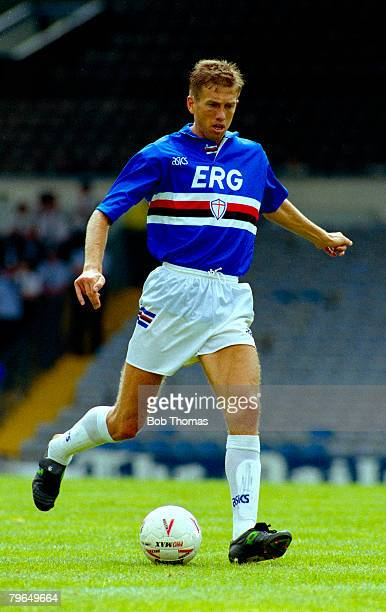 circa 1994 Sreko Katanec Sampdoria capped many times by Yugoslavia