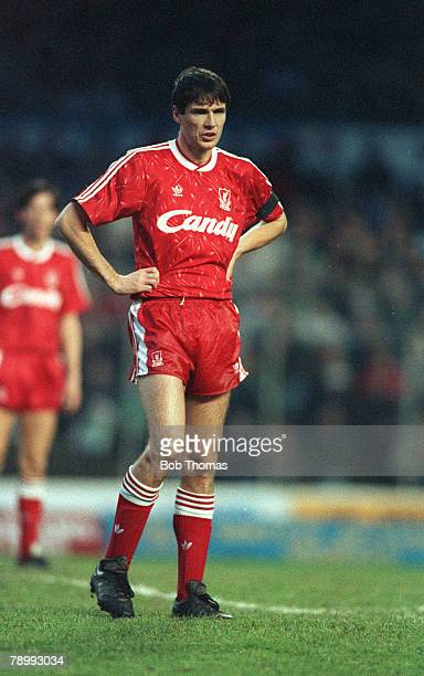 December 1989 Alan Hansen Liverpool