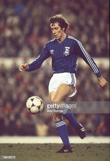 February 1982, Arnold Muhren, Ipswich Town 1978-1981