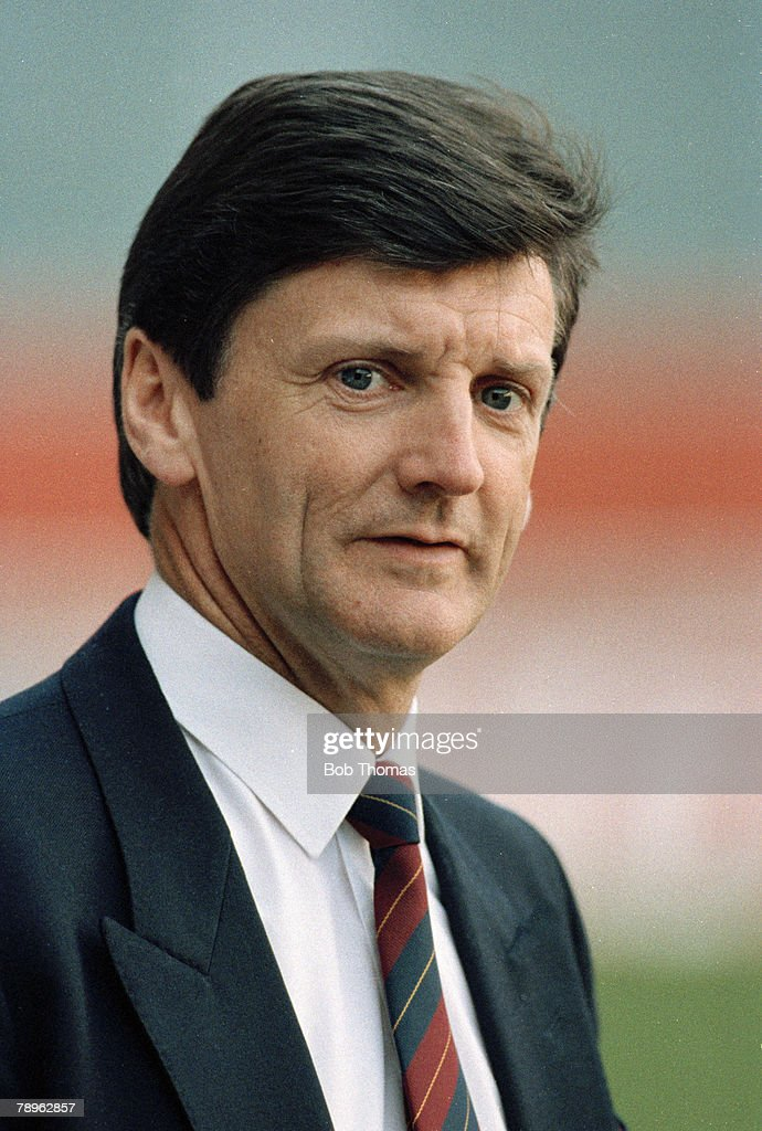 Sport. Football. pic: February 1990. Genoa. Scotland Manager Andy Roxburgh who was in charge 1986-1993. : News Photo