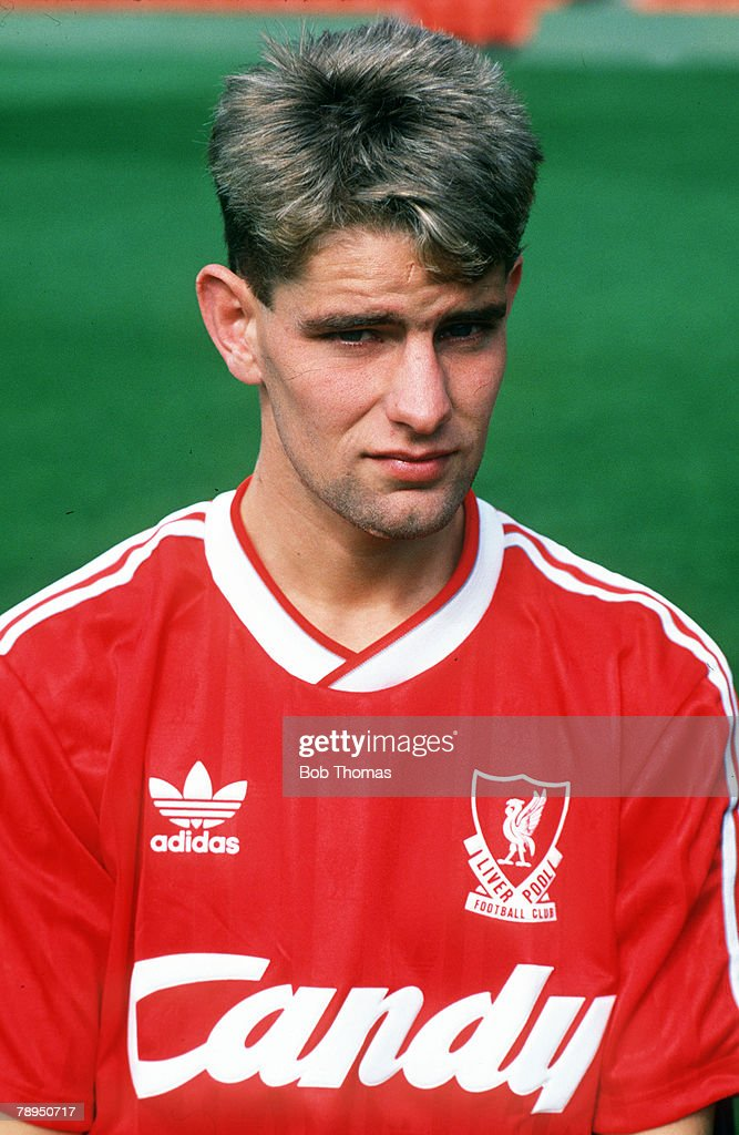Sport. Football. pic: January 1985. Wayne Harrison, Liverpool, who, aged 17, was transferred by Oldham to Liverpool, for ?250,000, and was hailed as a future star, but failed to play one first team game for Liverpool. : News Photo