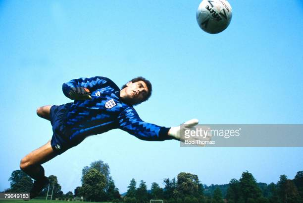 June 1989 Peter Shilton England and Derby County goalkeeper