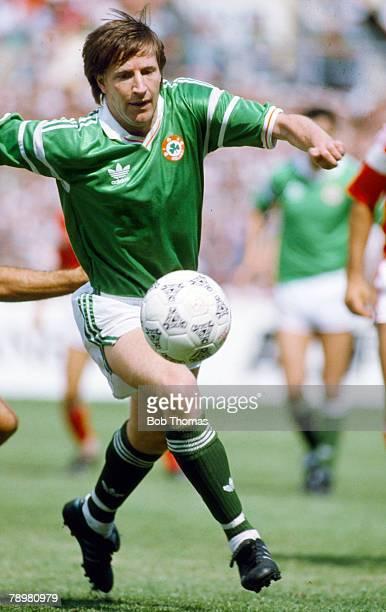 May 1989, World Cup Qualifier in Dublin, Republic of Ireland 2 v Malta 0, Ronnie Whelan, Republic of Ireland, Ronnie Whelan won 53 Republic of...