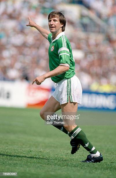May 1989 World Cup Qualifier in Dublin Republic of Ireland 2 v Malta 0 Ronnie Whelan Republic of Ireland Ronnie Whelan won 53 Republic of Ireland...