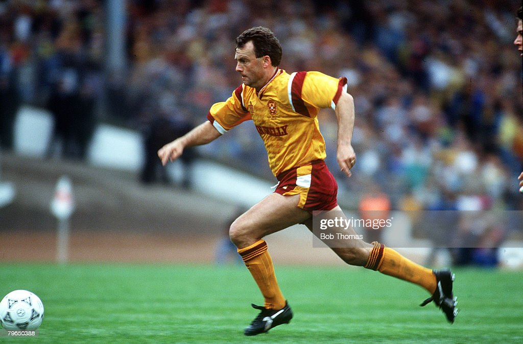 Sport, Football, pic: May 1991, Scottish Cup Final at Hampden Park, Motherwell,4,v Dundee United,3 : Nieuwsfoto's