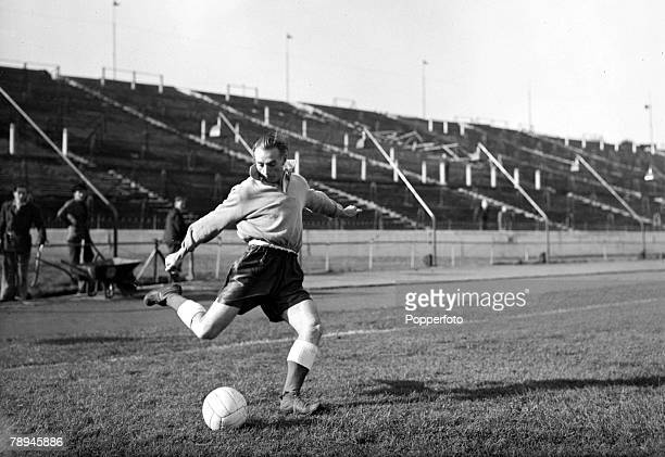 November 1954 Stanley Matthews Blackpool and England The 'wizard of dribble' played 54 times for England in a long career spanning with his clubs 36...
