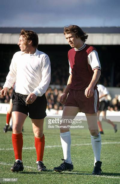 November 1972 Northampton Town v Crewe Alexandra at the County Ground Phil Neal Northampton Town right Phil Neal was transferred to Liverpool in 1974...