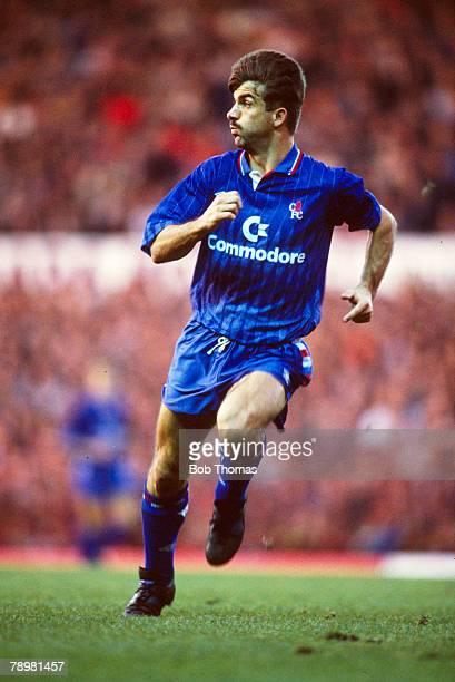 November 1989 Kevin Wilson Chelsea striker Kevin Wilson also won 42 Northern Ireland international caps between 19871995