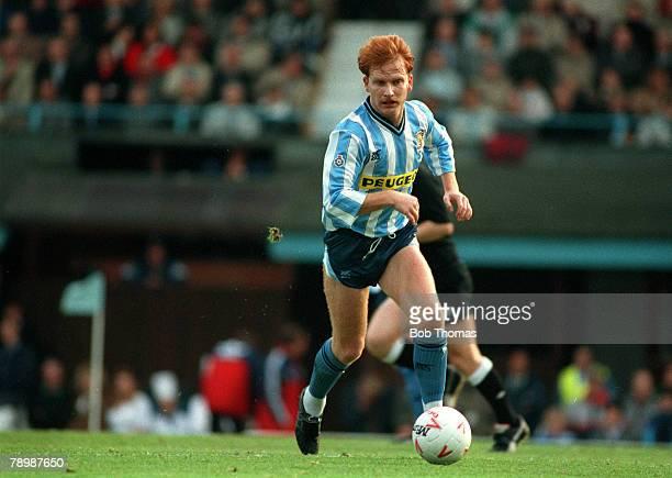 November 1990 Dean Emerson Coventry City