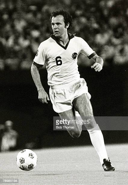 September 1978, Franz Beckenbauer, New York Cosmos, West Germany's Franz Beckenbauer is the only one to have won the World Cup as both player and...