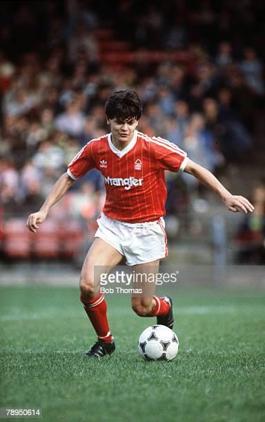 September 1983 Steve Hodge Nottingham Forest