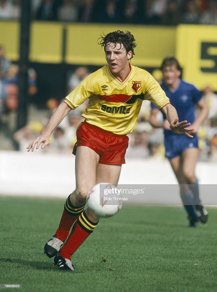 Sport. Football. pic: September 1985. Division 1. Gary Porter, Watford. : News Photo