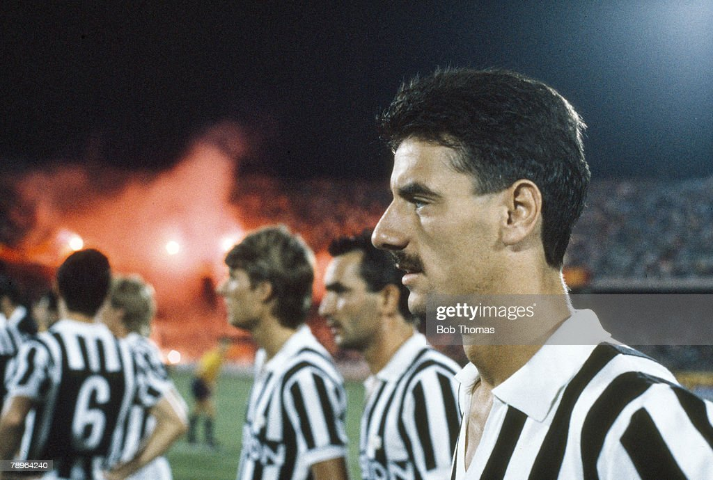 Sport. Football. pic: September 1987. Juventus striker Ian Rush. Ian Rush won 73 Wales international caps between 1980-1996. : News Photo