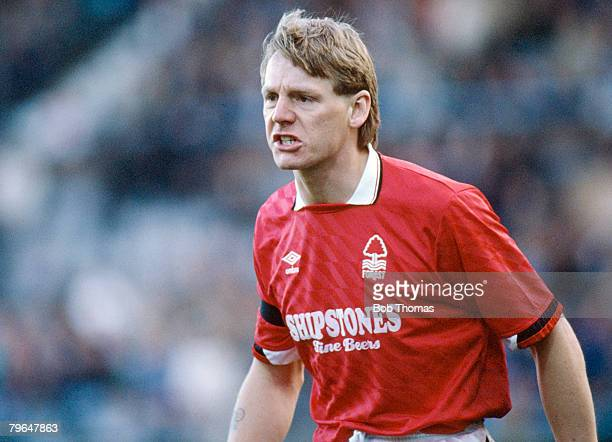 1990 Littlewoods Cup SemiFinal 2nd Leg Nottingham Forest beat Coventry City 21 on aggregate Stuart Pearce Nottingham Forest defender who won 78...