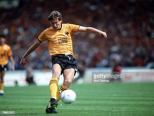 29th May 1988 Sherpa Van Trophy Final at Wembley Burnley 0 v Wolverhampton Wanderers 2 Gary Bellamy Wolverhampton Wanderers