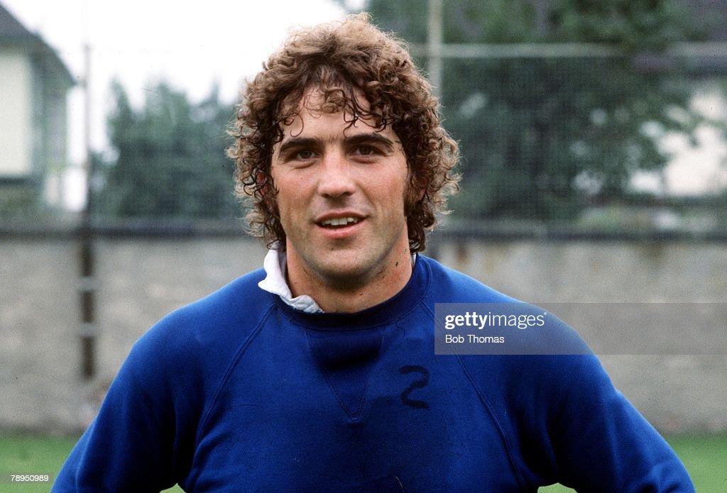 Sport, Football. Portrait of Everton's Bob Latchford. : News Photo