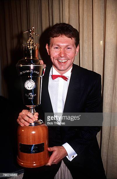 Sport Football Professional Football Association Awards London England 5th May 1987 Tottenham Hotspur's Clive Allen the PFA Player of the Year...