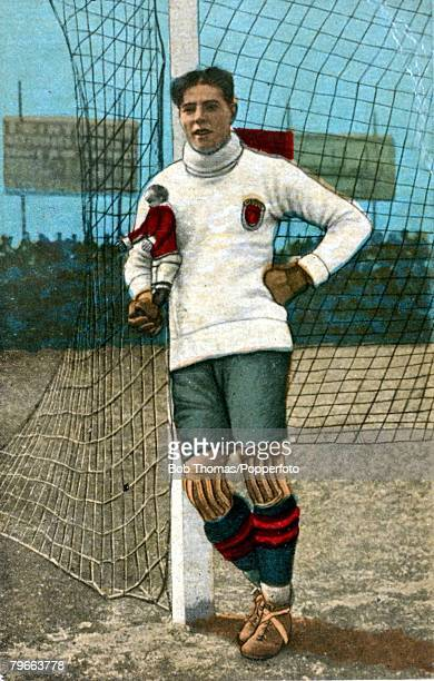 Sport Football Ricardo Zamora Famous Barcelona and Spain goalkeeper Circa 1920