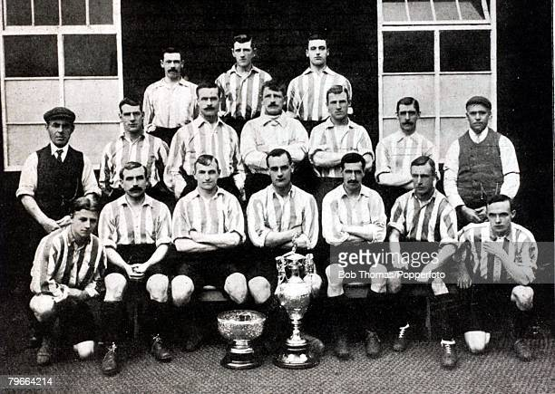 Sport Football Sheffield Wednesday League Champions 19021903 Back rowLR RFerrier WEHemingfield FThackerey Middle rowLR JDavis Ass Trainer WLayton...