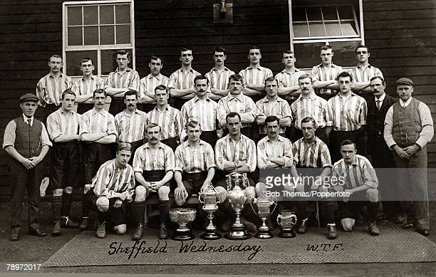 Sport Football Sheffield Wednesday winners of the Football League Division 1 Championship in consecutive 190203 and 190304