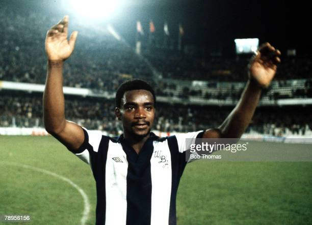 Sport Football Spain UEFA Cup Third Round First Leg 22nd November 1978 Valencia 1 v West Bromwich Albion 1 West Bromwich Albion goalscorer Laurie...