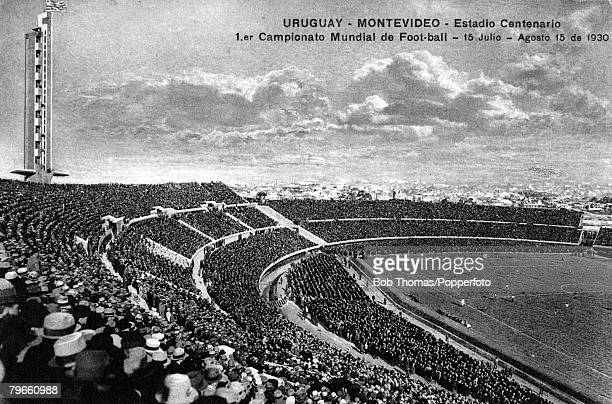 Sport Football The Centenary Stadium Montevideo Uruguay which hosted the first FIFAWorld Cup Final in 1930